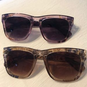 Accessories - Two for one sunglasse package. Good condition.